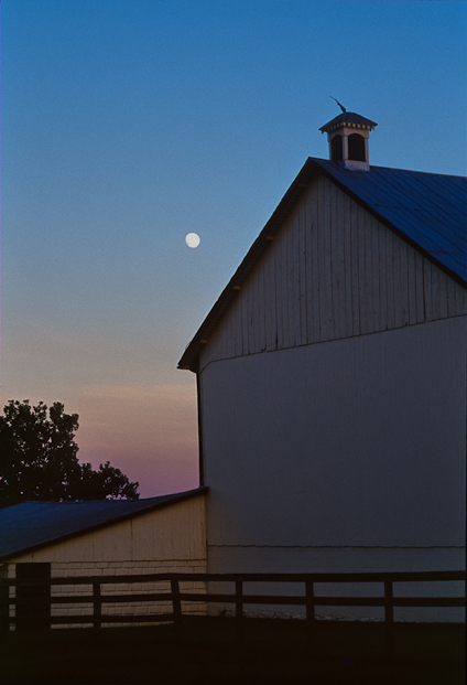 Dusk, Bascule Farm, Poolesville, Maryland, Summer, 2001