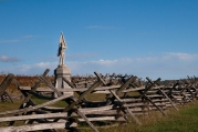 132nd Pennsylvania Infantry Regiment Monument, Antietam National Battlefield Park, Sharpsburg, Maryland, October 22, 2013
