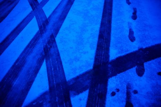 Tracks, Hunter Hill, Hagerstown, Maryland, December 8, 2013