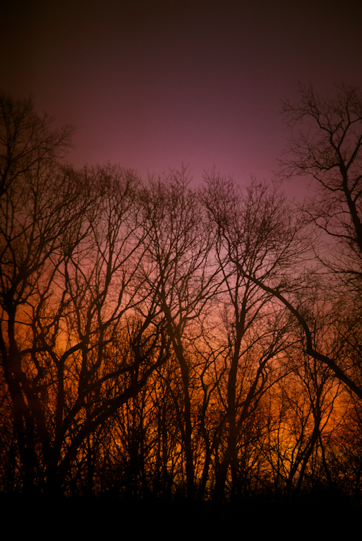 Sunrise, Hunter Hill, Hagerstown, Maryland, January 29, 2015