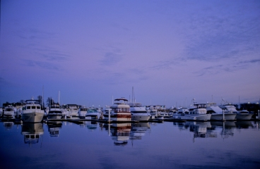 Marina, Magic Hour, Hemingway's Restaurant, Kent Island, Marylan