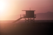 Guard Station, Venice Beach (Vicinity), California, 1993