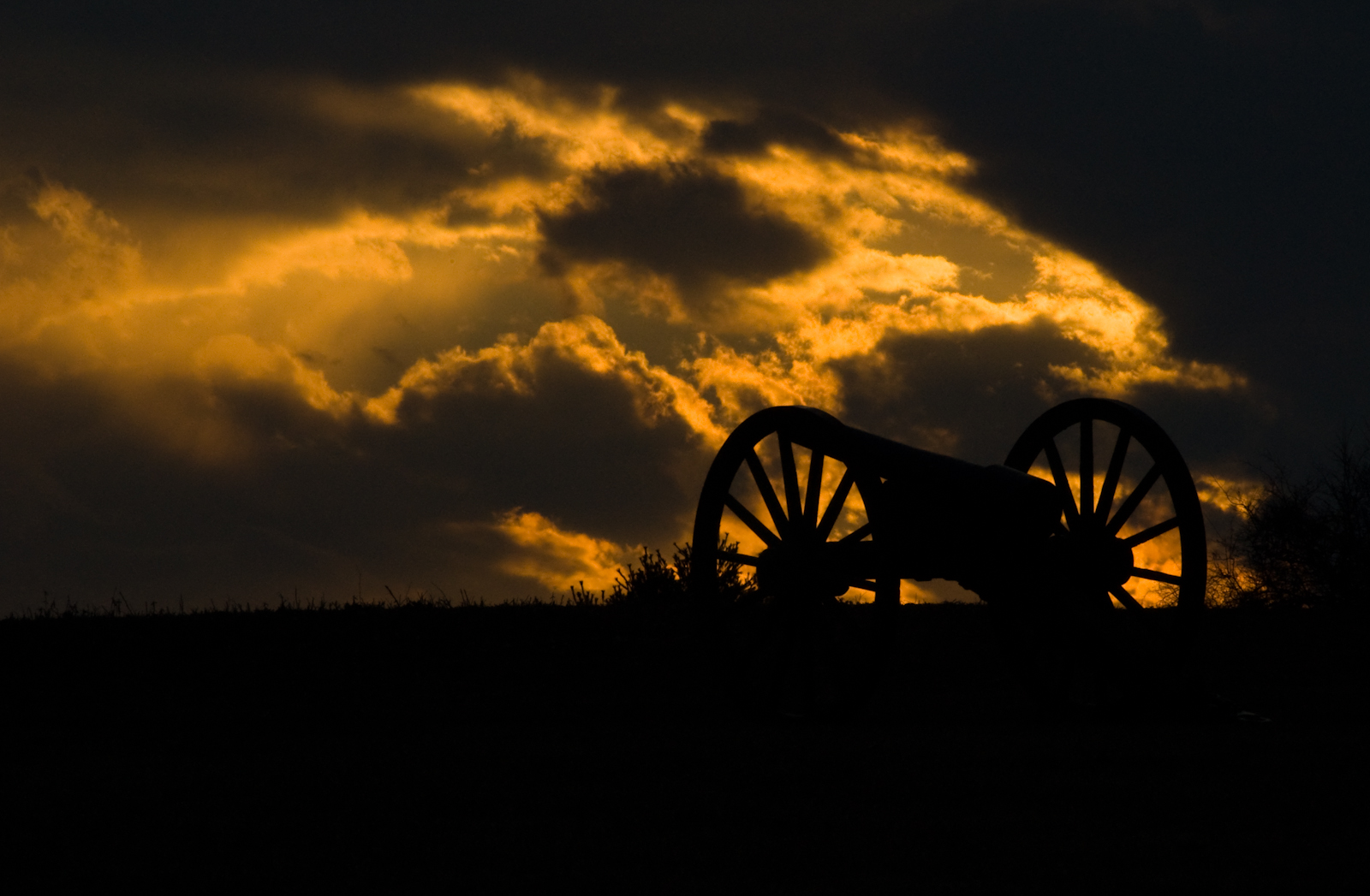 Antietam National Battlefield Park, Sharpsburg, Maryland, Februa
