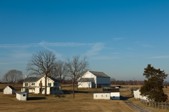 Homestead, Mumma Farm, Antietam National Battlefield Park, Sharp