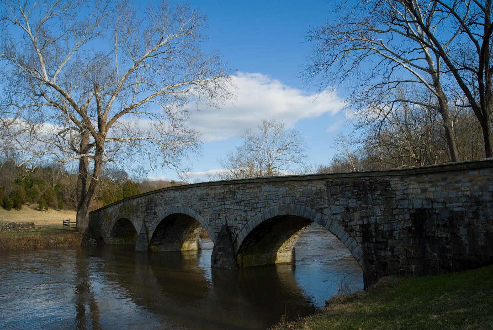 Burnside Bridge, Antietam National Battlefield Park, March 5, 20