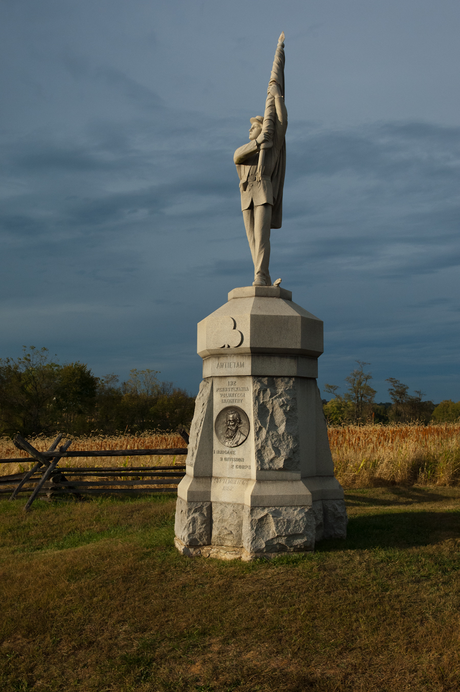 132 Pennsylvania Volunteer Infantry Monument, Antietam National