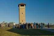 Ranger and Audience, Antietam National Battlefield, Sharpsburg, Maryland, October 19, 2009