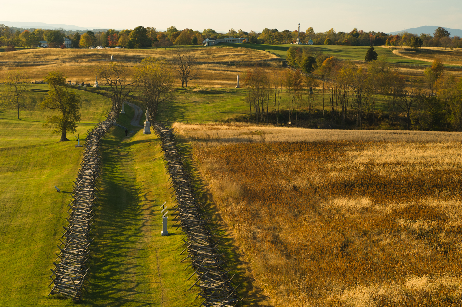 Bloody Lane, Antietam Battlefield, Sharpsburg, Maryland, October