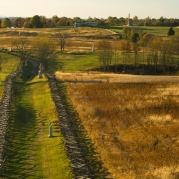 "The infamous ""Bloody Lane"" or ""Sunken Road"" on a most beautiful autumn day."