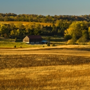 "Antietam National Battlefield Park has been noted as the most preserved of historic landscapes and ""view sheds"", but even so, its arrangements include privately worked farmland."